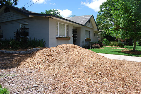 Free mulch delivered Orlando