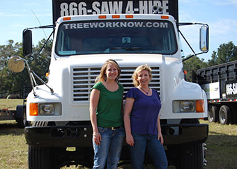 Client care staff provides extraordinary service to tree trimming clients in Orlando